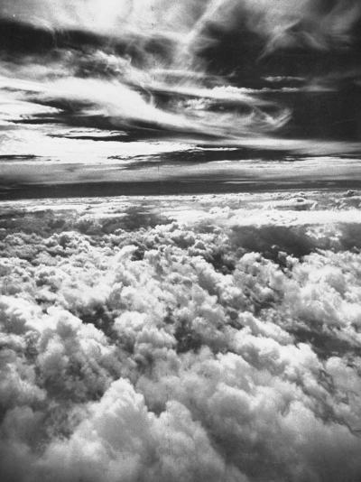Thick, Dark Clouds Standing Still in the Sky-Fritz Goro-Photographic Print