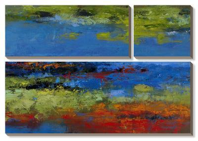 Thicker Than Water I & II-Janet Bothne-Canvas Art Set