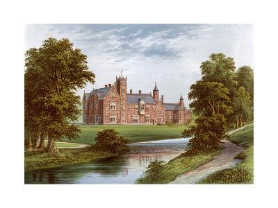 Thicket Priory, York, Home of the Dunnington-Jefferson Family, C1880-Benjamin Fawcett-Giclee Print