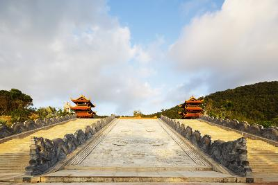 Thien Vien Truc Lam Ho Temple, Phu Quoc Island, Vietnam, Indochina, Southeast Asia, Asia-Christian Kober-Photographic Print