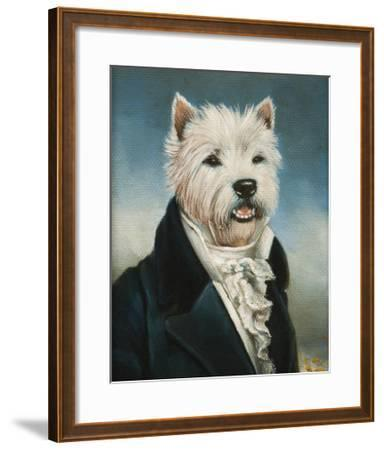 Westie With A Jabot