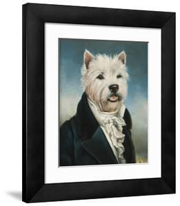 Westie With A Jabot by Thierry Poncelet