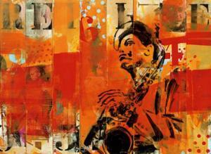 Jazz II by Thierry Vieux