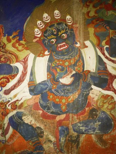 Thikese Monastery, Interior, Ladakh, India-Jaina Mishra-Photographic Print