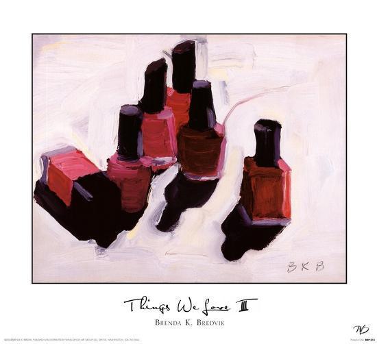 Things We Love III-Brenda K^ Bredvik-Art Print