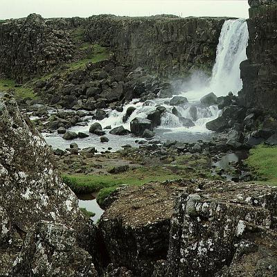 Thingvellir, 'Parliament Plains', Where the National Assembly, Althing, Met--Giclee Print