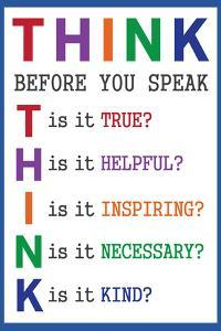 Think Before You Speak Education