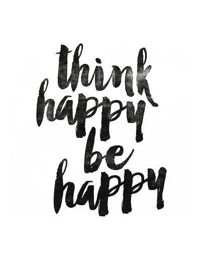 Think Happy Be Happy 2-Brett Wilson-Art Print
