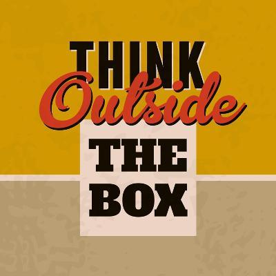 Think Outside the Box 1-Lorand Okos-Art Print