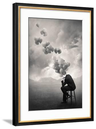 Think-Tommy Ingberg-Framed Photographic Print