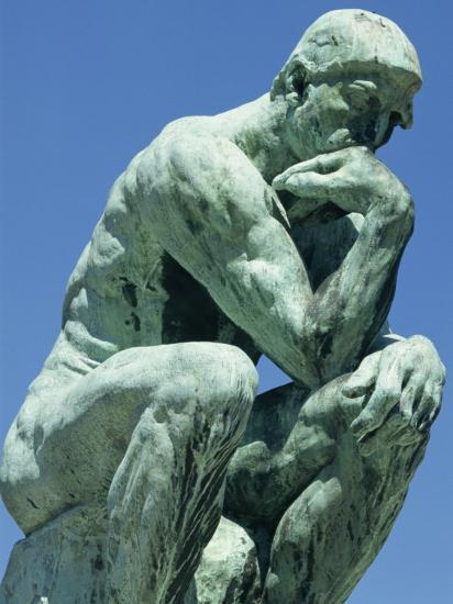Thinker, by Rodin, Musee Rodin, Paris, France, Europe-Ken Gillham-Photographic Print