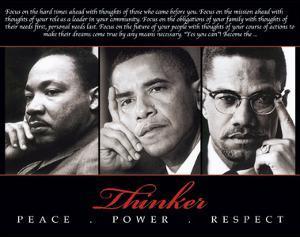 Thinker (Trio): Peace, Power, Respect