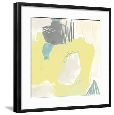 Thinking in Circles I-Julie Silver-Framed Giclee Print