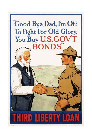 Third Liberty Loan Poster-Laurence Harris-Giclee Print