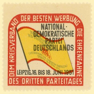 Third Party Conference of the National Democratic Party of Germany, Leipzig, East Germany, 1951--Giclee Print