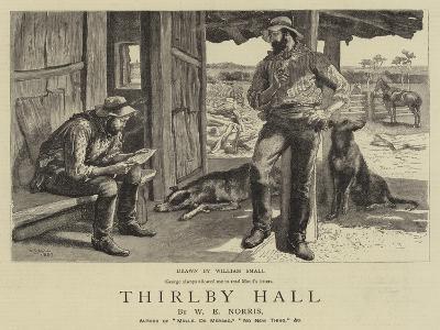 Thirlby Hall-William Small-Giclee Print