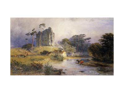 Thirlwall Castle, Northumberland-Henry George Hine-Giclee Print