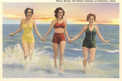 Thirties Bathing Beauties, Galveston