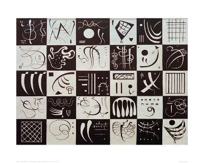 Thirty, 1937-Wassily Kandinsky-Giclee Print