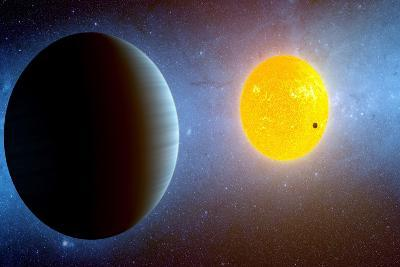 This Artist's Conception Depicts the Kepler-10 Star System--Art Print