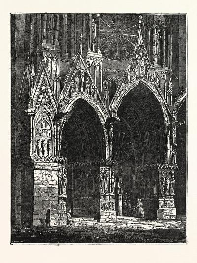 This Cathedral of Rheims, in France--Giclee Print