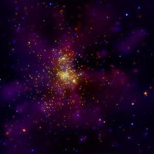 This Chandra X-ray Observatory Image Shows Westerlund 2, a Young Star Cluster