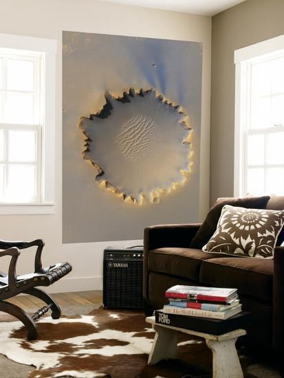 This Image Shows Victoria Crater, an Impact Crater at Meridiani Planum, Near the Equator of Mars--Giant Art Print