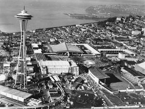 This is a Photo of Seattle During the World's Fair