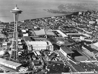 This is a Photo of Seattle During the World's Fair--Photographic Print