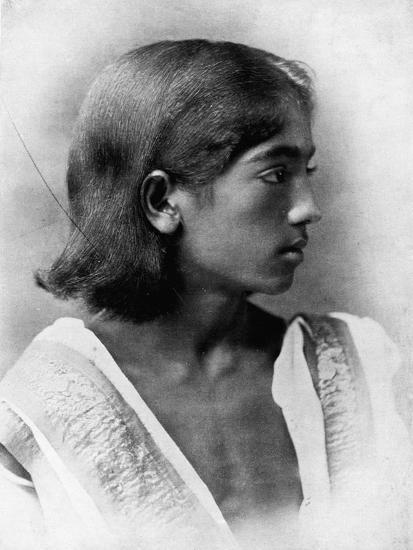 'This is a Photograph of J. Krishnamurti', c1911, (1911)-Unknown-Photographic Print
