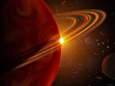 This is an Artist's Concept of Giant Planet Recently Discovered Orbiting the Sun-Like Star 79 Ceti-Stocktrek Images-Photographic Print