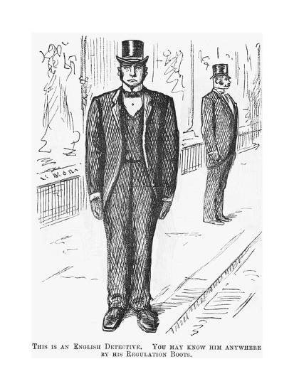 This Is an English Detective, 1888--Giclee Print