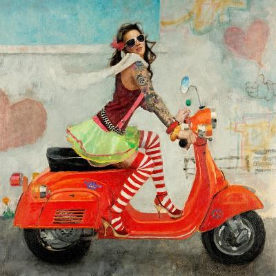 This Is How I Roll-Michael Fitzpatrick-Art Print
