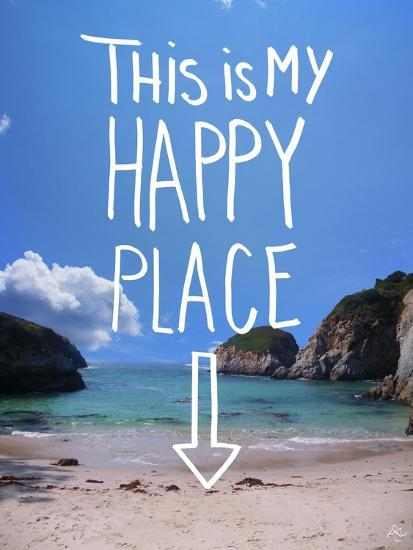 This Is My Happy Place-Kimberly Glover-Giclee Print