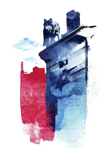 This Is My Town-Robert Farkas-Giclee Print