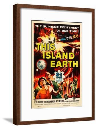 THIS ISLAND EARTH, Faith Domergue, Rex Reason, Jeff Morrow, 1955