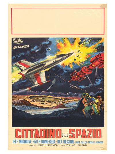 This Island Earth, Italian Movie Poster, 1954--Art Print