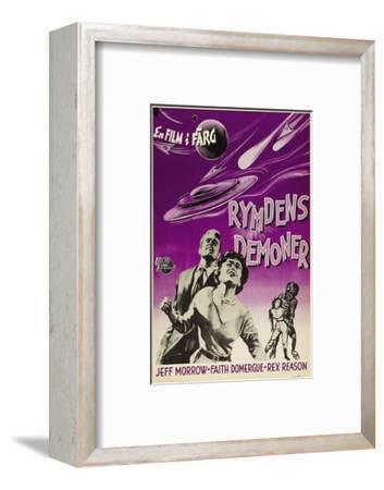 This Island Earth, Swedish Movie Poster, 1954