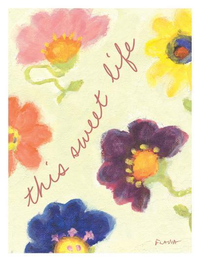 This Sweet Life-Flavia Weedn-Giclee Print