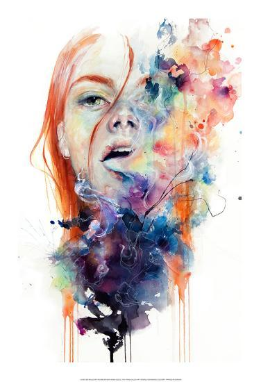 This thing called art is really dangerous-Agnes Cecile-Art Print