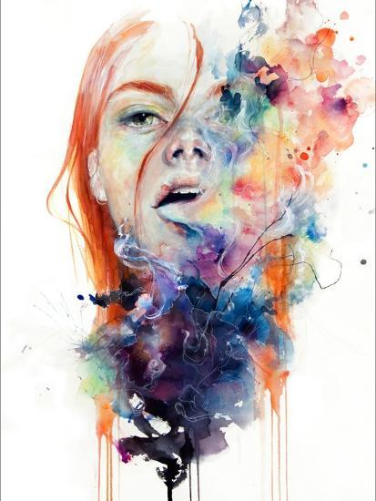 This Thing Called Art Is Really Dangerous-Agnes Cecile-Premium Giclee Print