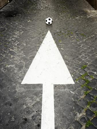 This Way to Soccer-Max Power-Photographic Print