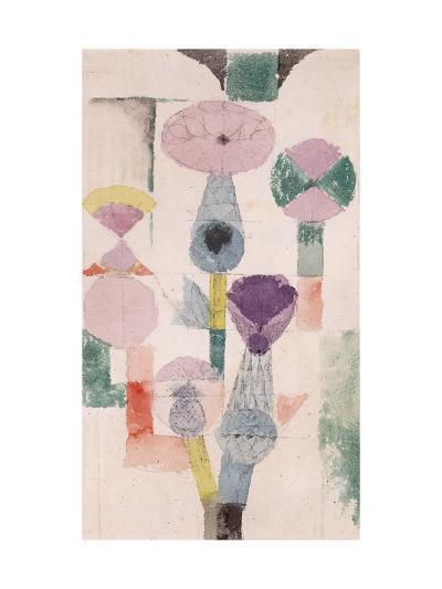 Thistle Bloom-Paul Klee-Giclee Print