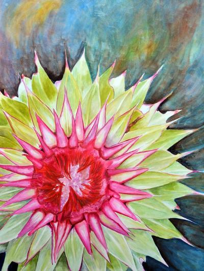 Thistle-Jennifer Redstreake Geary-Art Print