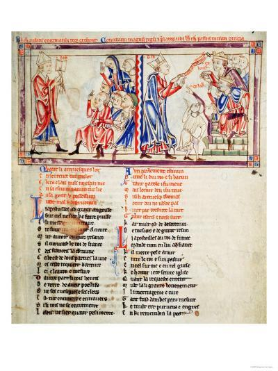 Thomas A Becket Pronounces the Sentence of Excommunication on His Enemies and Argues His Case--Giclee Print