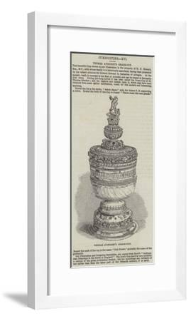 Thomas A'Becket's Grace Cup--Framed Giclee Print