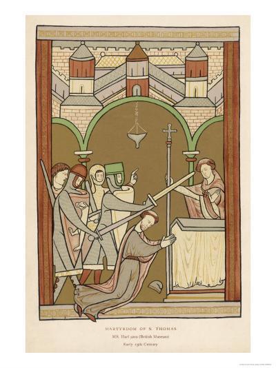 Thomas A. Becket, The Archbishop of Canterbury--Giclee Print