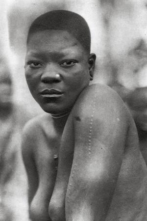 Awemba Girl, Livingstone to Broken Hill, Northern Rhodesia, 1925