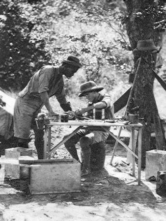 Errol Hinds and Julius Mapata, Livingstone to Broken Hill, Northern Rhodesia, 1925