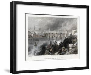 High Level Bridge over the Tyne at Newcastle, 1849 by Thomas Abiel Prior